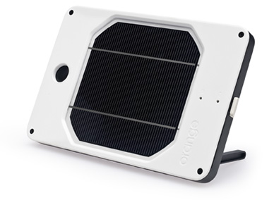 solar charger, mobile devices, JOOS Orange